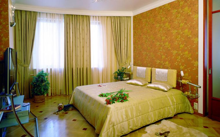 интерьер спальни - фото № 522