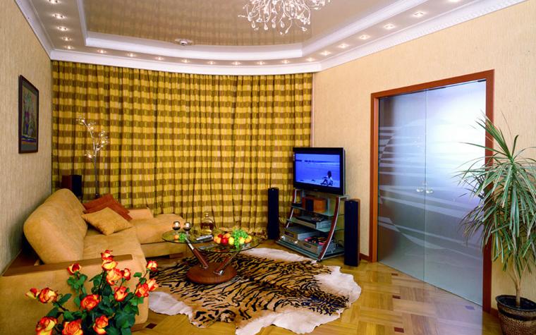 Квартира. гостиная из проекта , фото №518