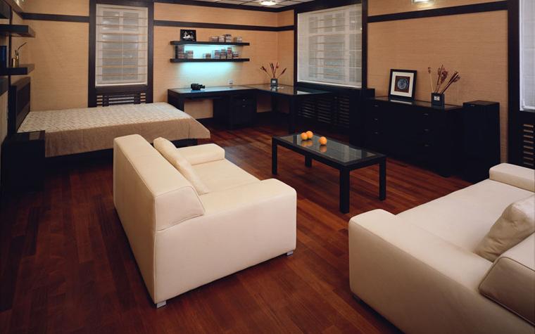 интерьер гостиной - фото № 540