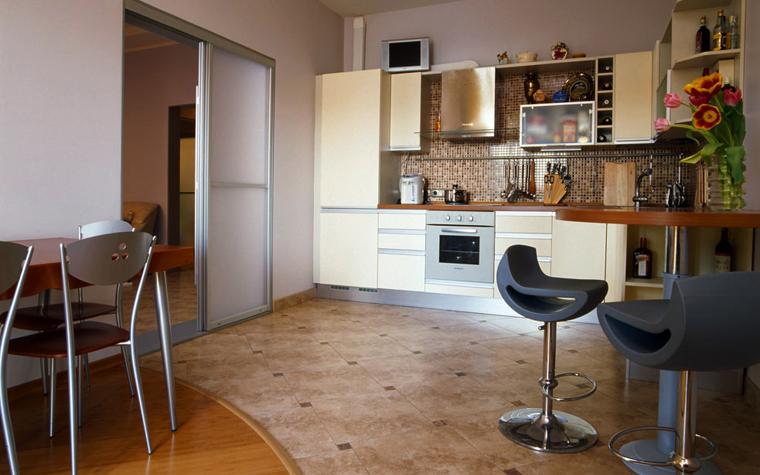Квартира. кухня из проекта , фото №567