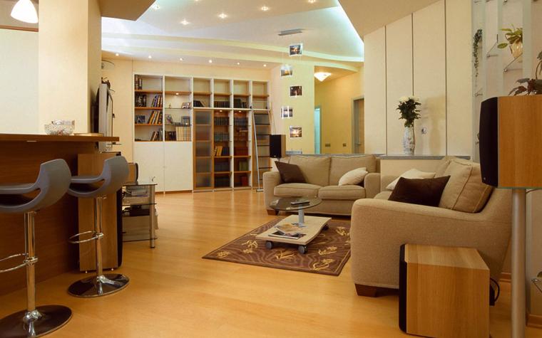 Фото № 592 гостиная  Квартира