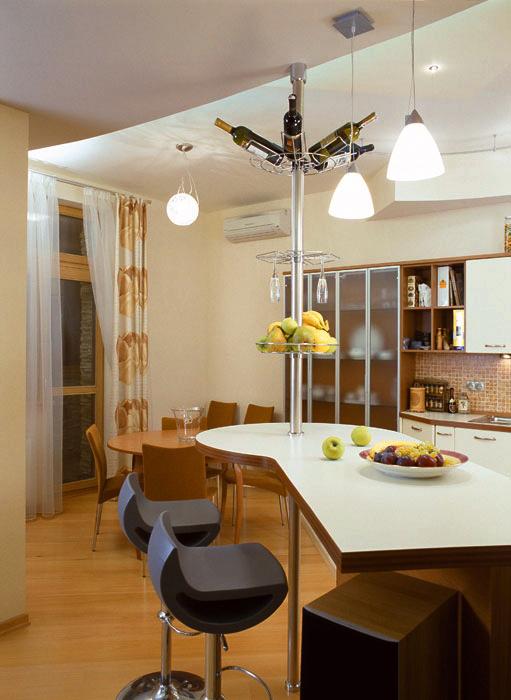 Квартира. кухня из проекта , фото №595