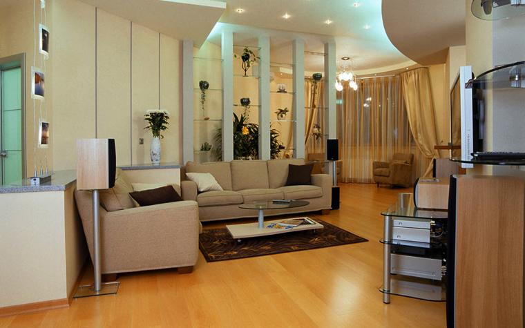 Фото № 593 гостиная  Квартира