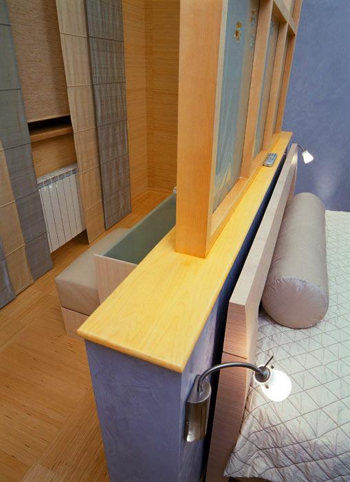 интерьер спальни - фото № 596