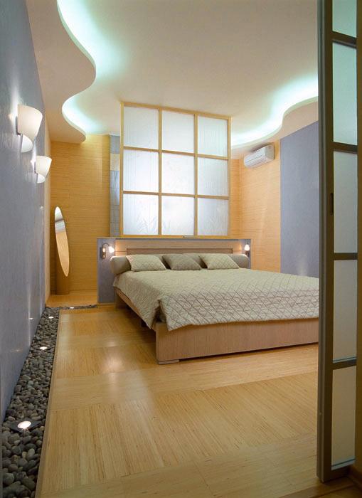 интерьер спальни - фото № 597
