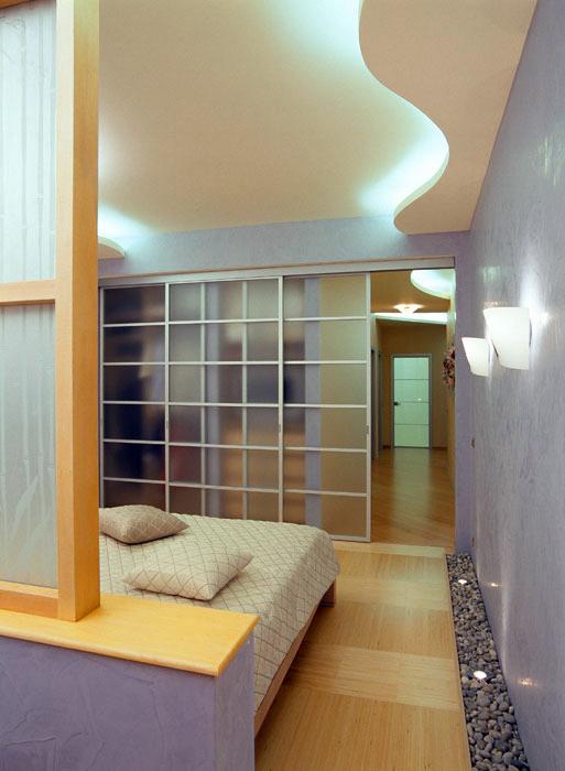 интерьер спальни - фото № 598