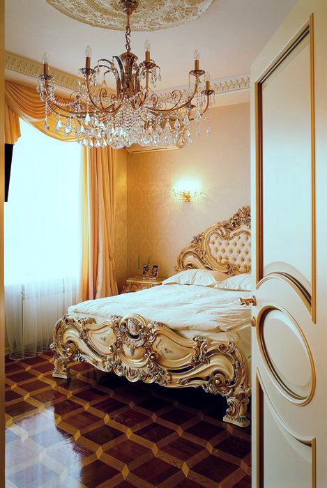 интерьер спальни - фото № 608