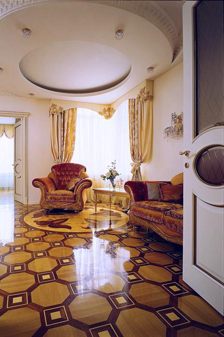 интерьер гостиной - фото № 607