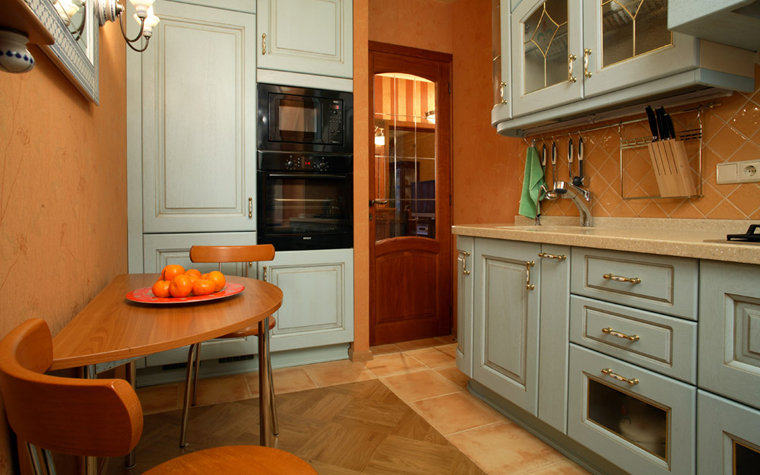 Квартира. кухня из проекта , фото №624
