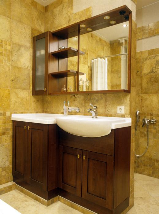 Квартира. ванная из проекта , фото №1416