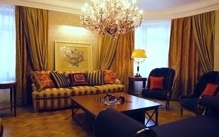 Квартира. гостиная из проекта , фото №632