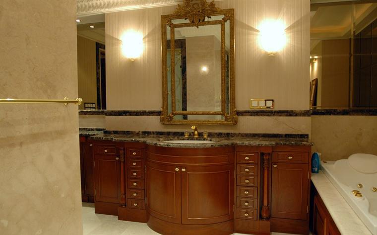Квартира. ванная из проекта , фото №2116
