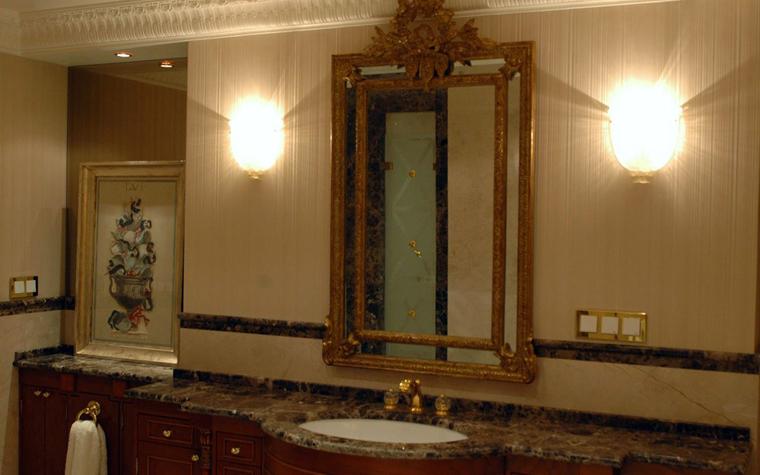 Квартира. ванная из проекта , фото №2117