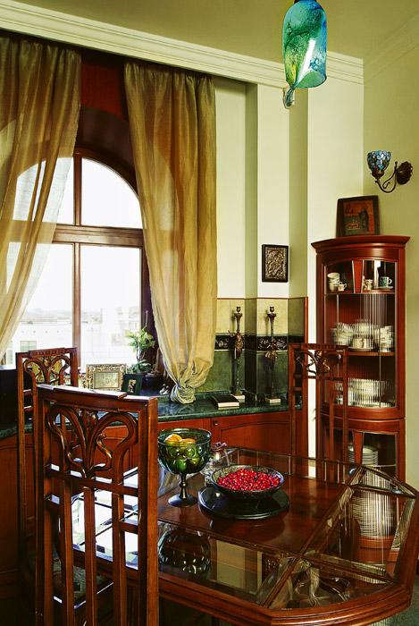 Квартира. столовая из проекта , фото №641