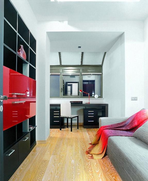 Квартира. кабинет из проекта , фото №726