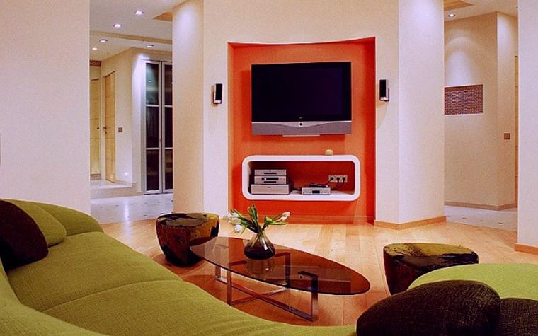 интерьер гостиной - фото № 2119