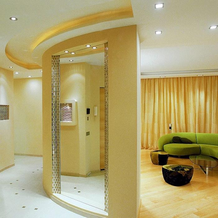интерьер гостиной - фото № 730