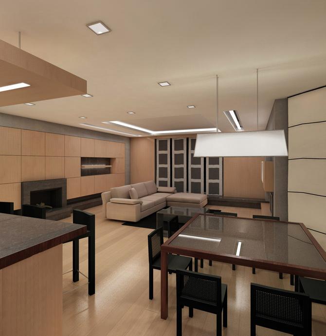 Квартира. гостиная из проекта , фото №739