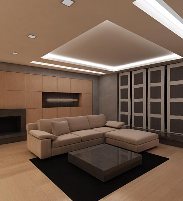Квартира. гостиная из проекта , фото №740
