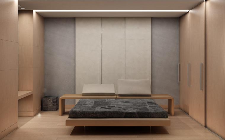 интерьер спальни - фото № 743