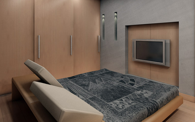интерьер спальни - фото № 745