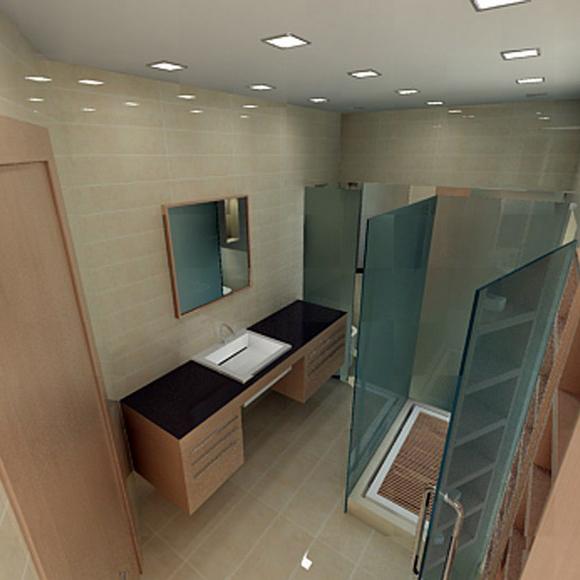 Квартира. ванная из проекта , фото №1455