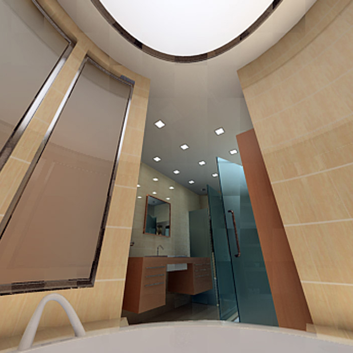 Квартира. ванная из проекта , фото №1456