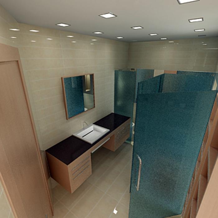 Квартира. ванная из проекта , фото №1457