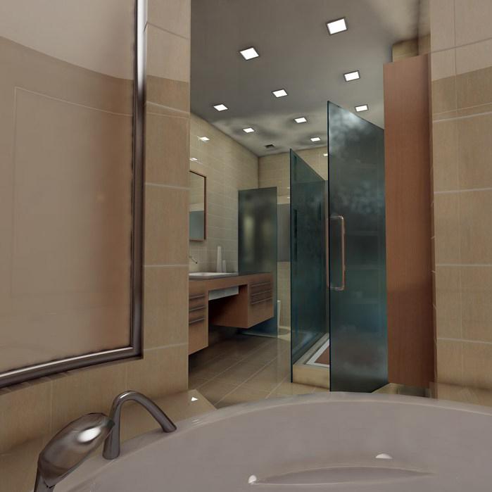 Квартира. ванная из проекта , фото №1461