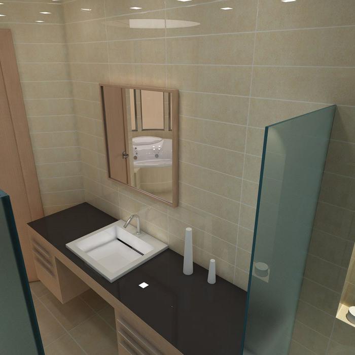 Квартира. ванная из проекта , фото №1462