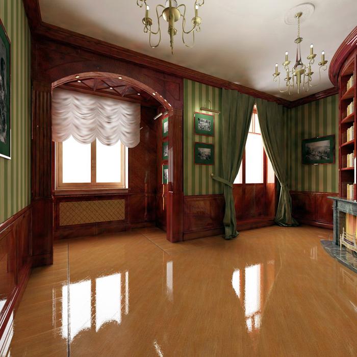 Квартира. библиотека из проекта , фото №5819