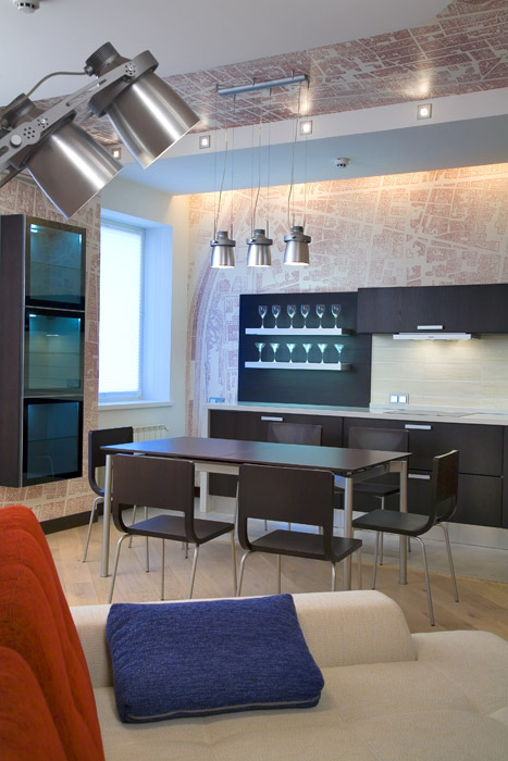 Квартира. кухня из проекта , фото №207