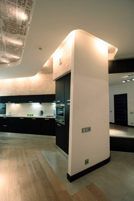 Квартира. кухня из проекта , фото №201