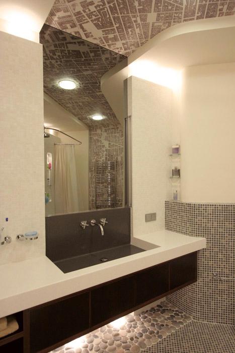 Квартира. ванная из проекта , фото №1380