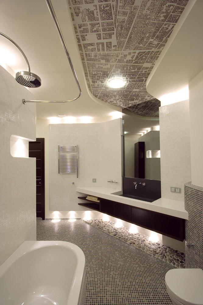 Квартира. ванная из проекта , фото №1384