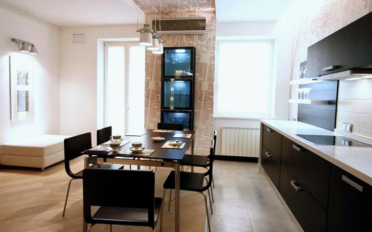 Квартира. кухня из проекта , фото №225