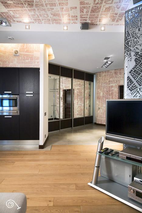 Квартира. кухня из проекта , фото №202