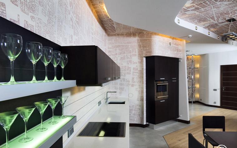 Квартира. кухня из проекта , фото №204
