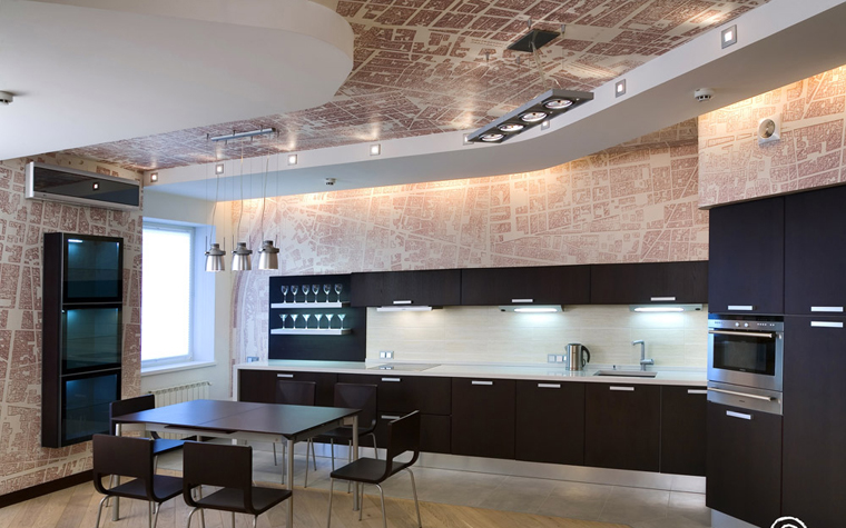интерьер кухни - фото № 205