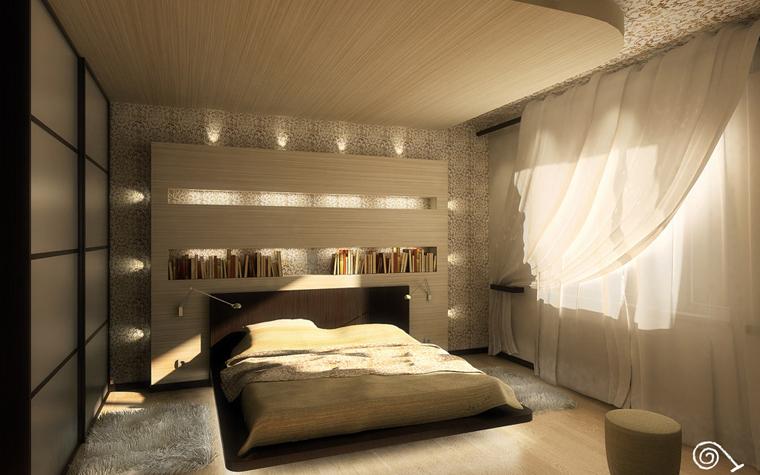 спальня - фото № 189