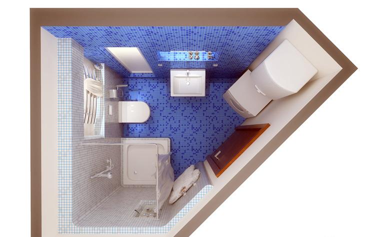 интерьер ванной - фото № 1378