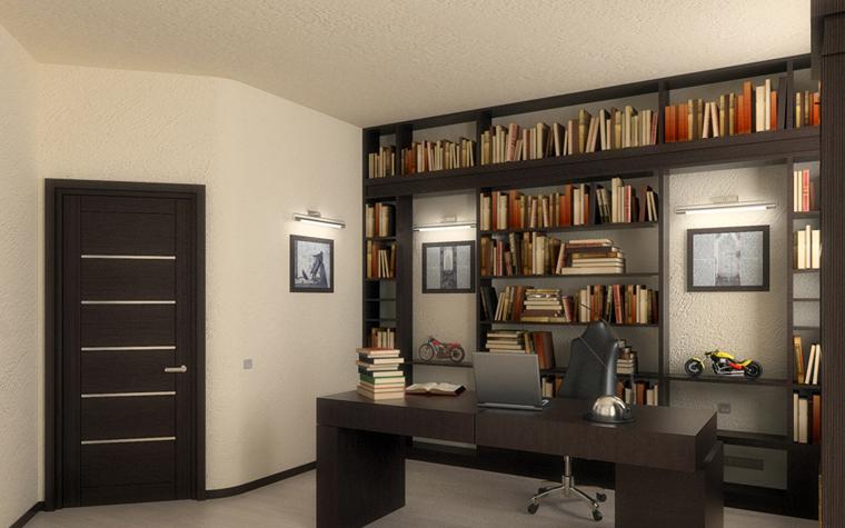 Квартира. кабинет из проекта , фото №195
