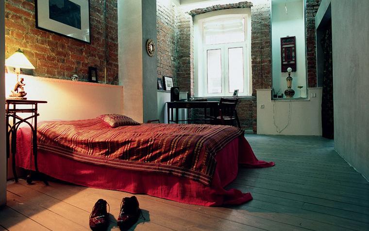 Квартира. спальня из проекта , фото №935