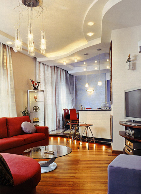 Фото № 1004 гостиная  Квартира