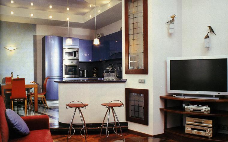 гостиная - фото № 1016