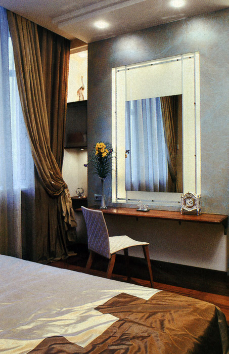 интерьер спальни - фото № 1008