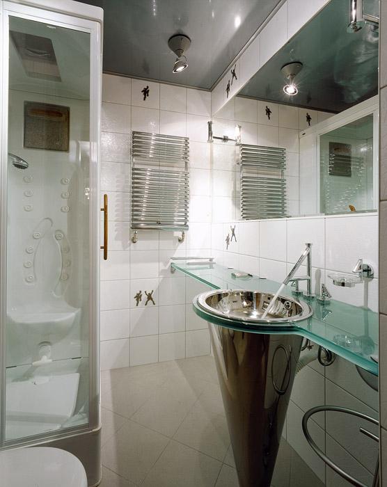 Квартира. ванная из проекта , фото №2371