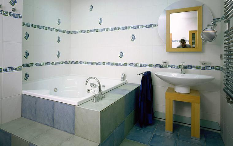 Квартира. ванная из проекта , фото №2372