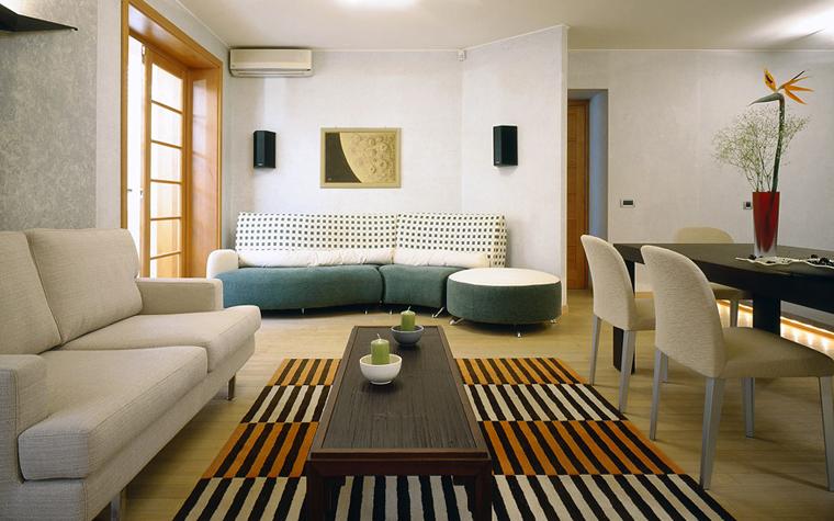 Квартира. гостиная из проекта , фото №2367