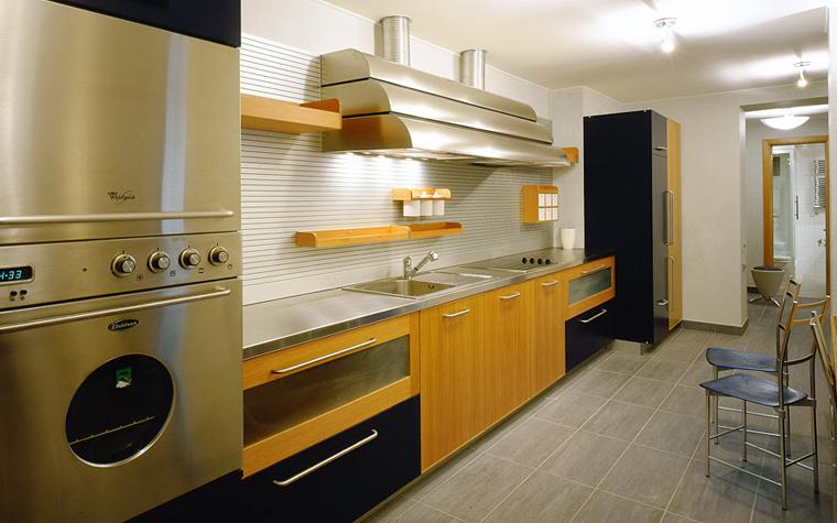 Квартира. кухня из проекта , фото №2377
